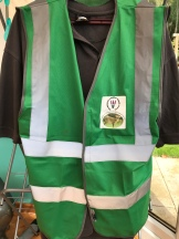 New hi-viz jackets have arrived if you see us in the valley please come up and say hello.